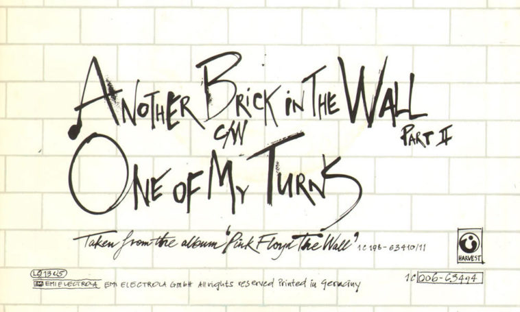 Pink Floyd - Another Brick In The Wall | This Day In Music