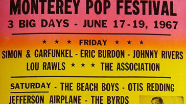 The Monterey Pop Festival