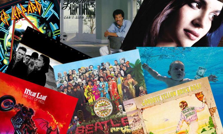 50 Best Selling Studio Albums | This Day In Music